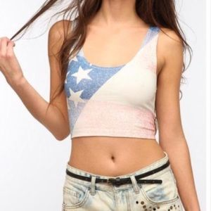 Urban Outfitters BDG 4th Of July Top American
